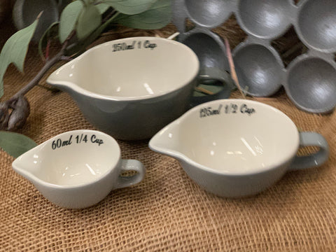 Mason Measuring Jugs Set of 3