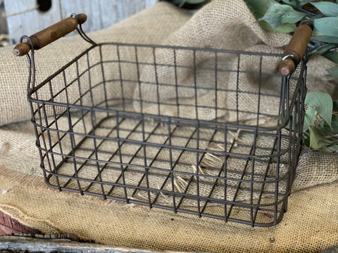 Timber Handle Baskets