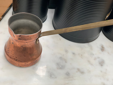 Vintage Copper Milk Pourer Ladle