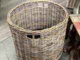 Round Basket on Casters