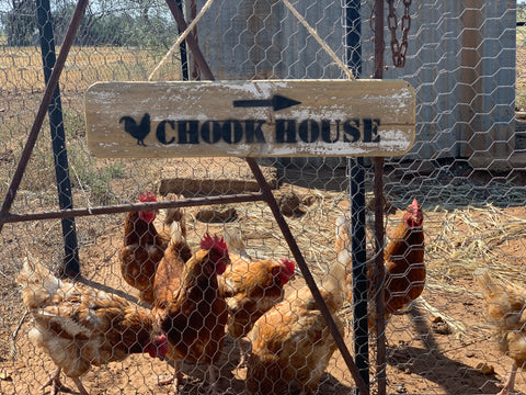 The CHOOK House Sign