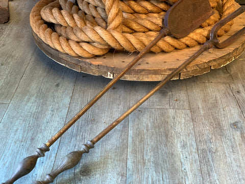 Vintage Set of Fire Tools