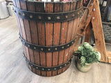 HALF Wine Grape PRESS or FIREWOOD Storage