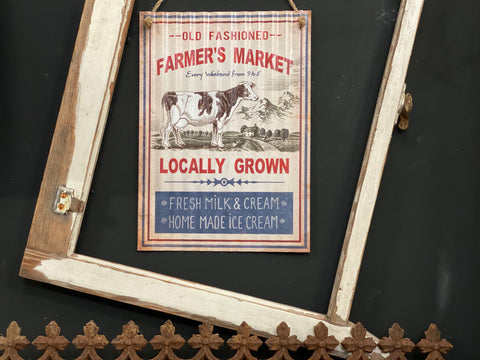 OLD Fashioned Farmers Market Free Postage