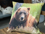 GRIZZLY BEAR Cushion 1 ONLY