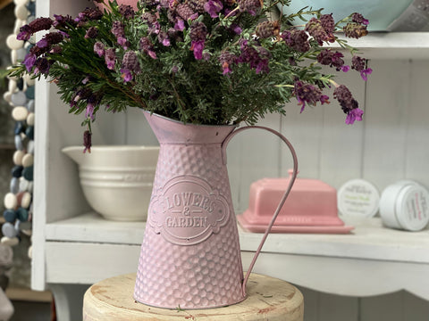 Pink Water/Garden Jug Decor
