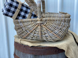 XL PICNIC Basket with FLIP Lids