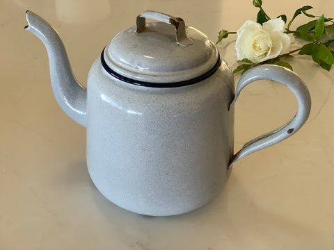 Duck Egg Blue Tea Pot