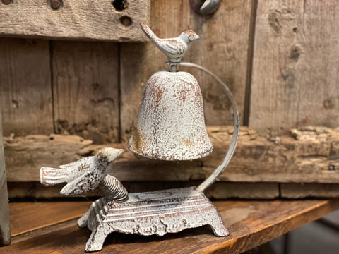 Metal SPRING Bird Bell ... Soooo CUTE
