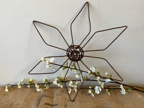Rusty Wire Flower