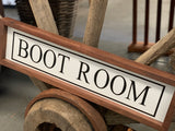 Handmade BOOT ROOM Sign