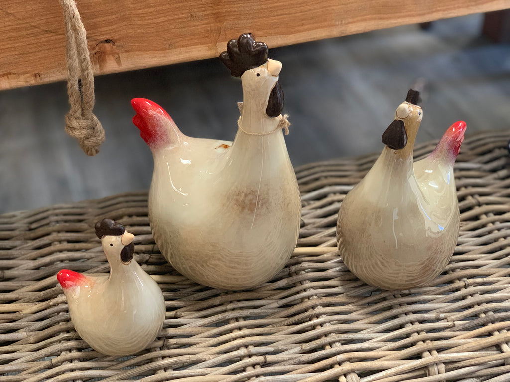 The Long Neck Chicken Family