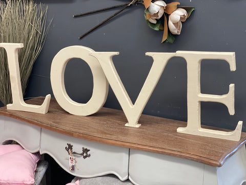 Handmade JUMBO Timber LOVE