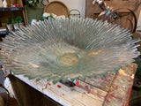 Glass SPIKEY Vintage Bowl Centrepiece