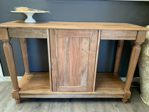Solid TIMBER Console with STORAGE