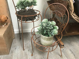 Rusty Anne Chair Planter