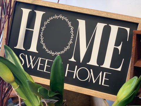 HOME Sweet Home Handmade Sign
