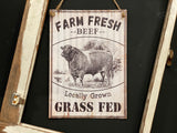 Farm Fresh Beef Sign Free Postage