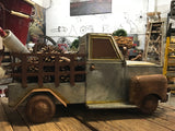 XL Rustic Truck with Lights FREE Shipping