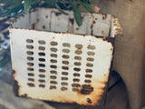 OLDE Metal Perferated Metal Box