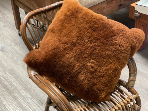 Shorn Alpaca Cushion