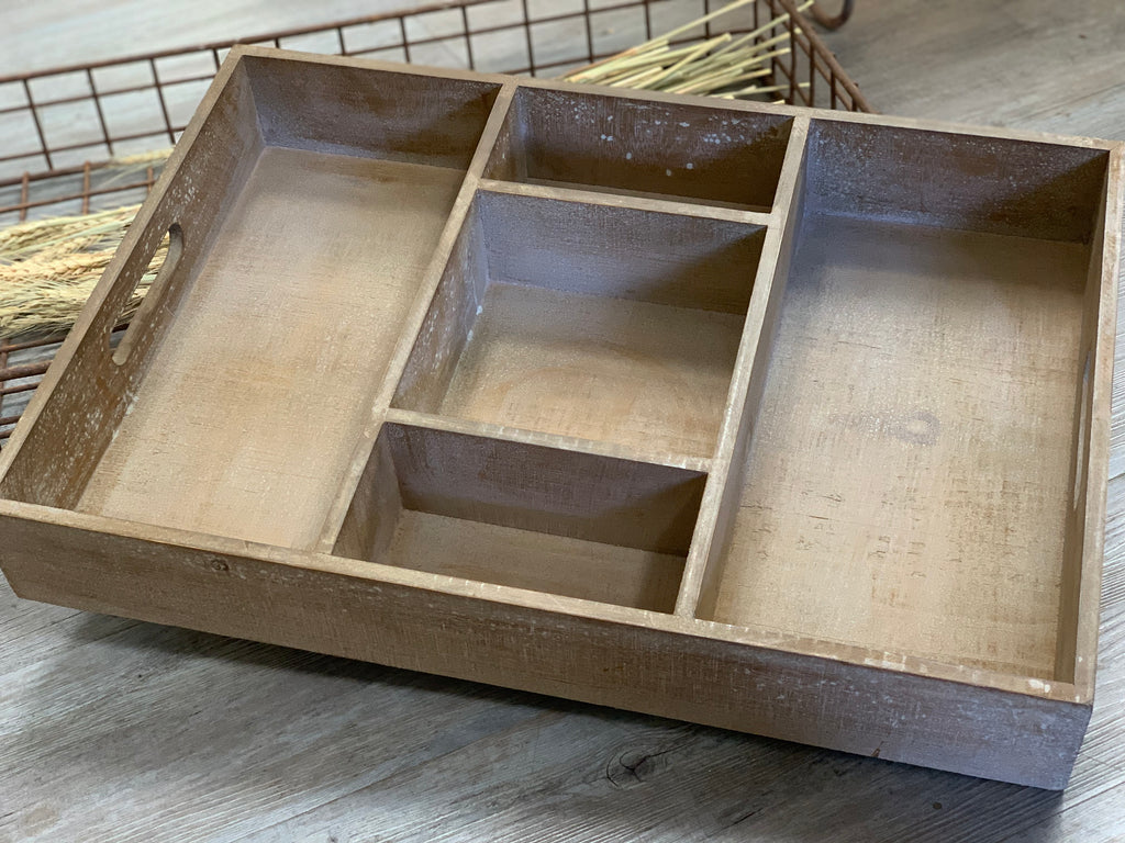 Timber BBQ Cutlery Tray or Wall Unit