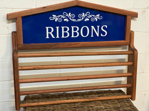 Handmade Horse RIBBONS Rack