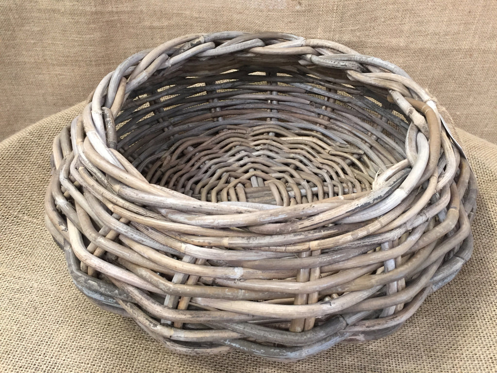 Round Rattan Basket Large