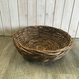 Dark Rattan Bowl Medium
