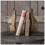 Timber Shoe Bookends