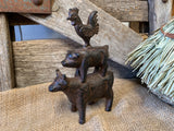 Cast iron Farm Animals STACK