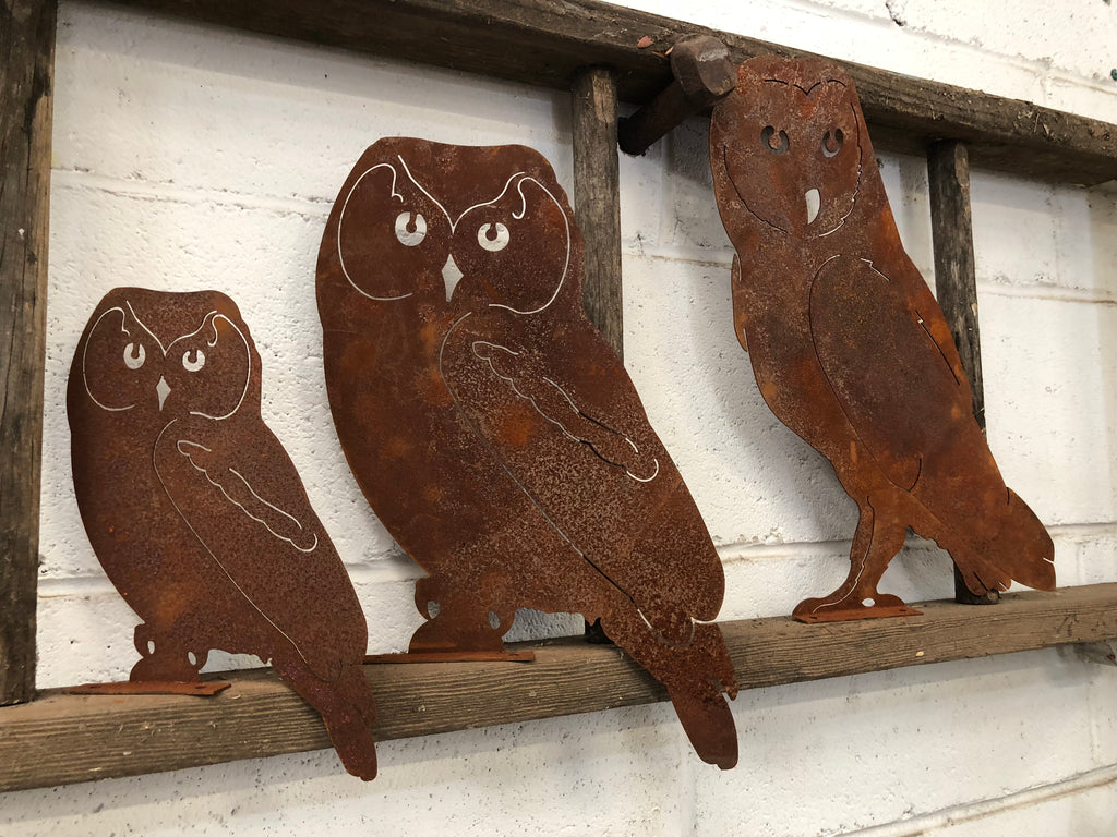 Beautiful Rustic Owl set