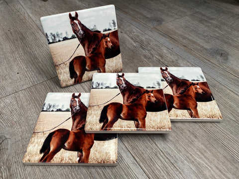 MUM AND ME Coasters Set of 4