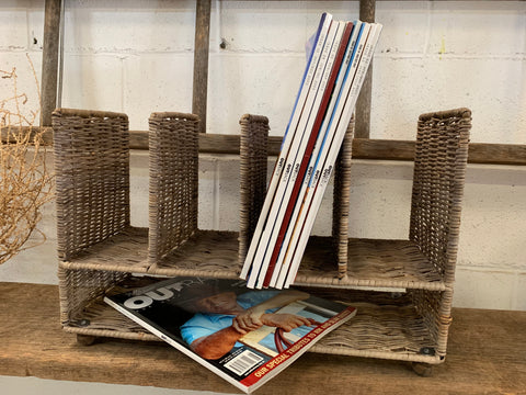 Rattan Book Or Magazine Stand
