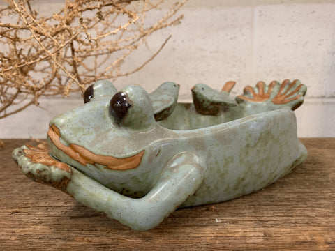FROGGY Small Bird Bath