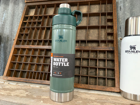 Green Stanley Vacuum WATER Bottle