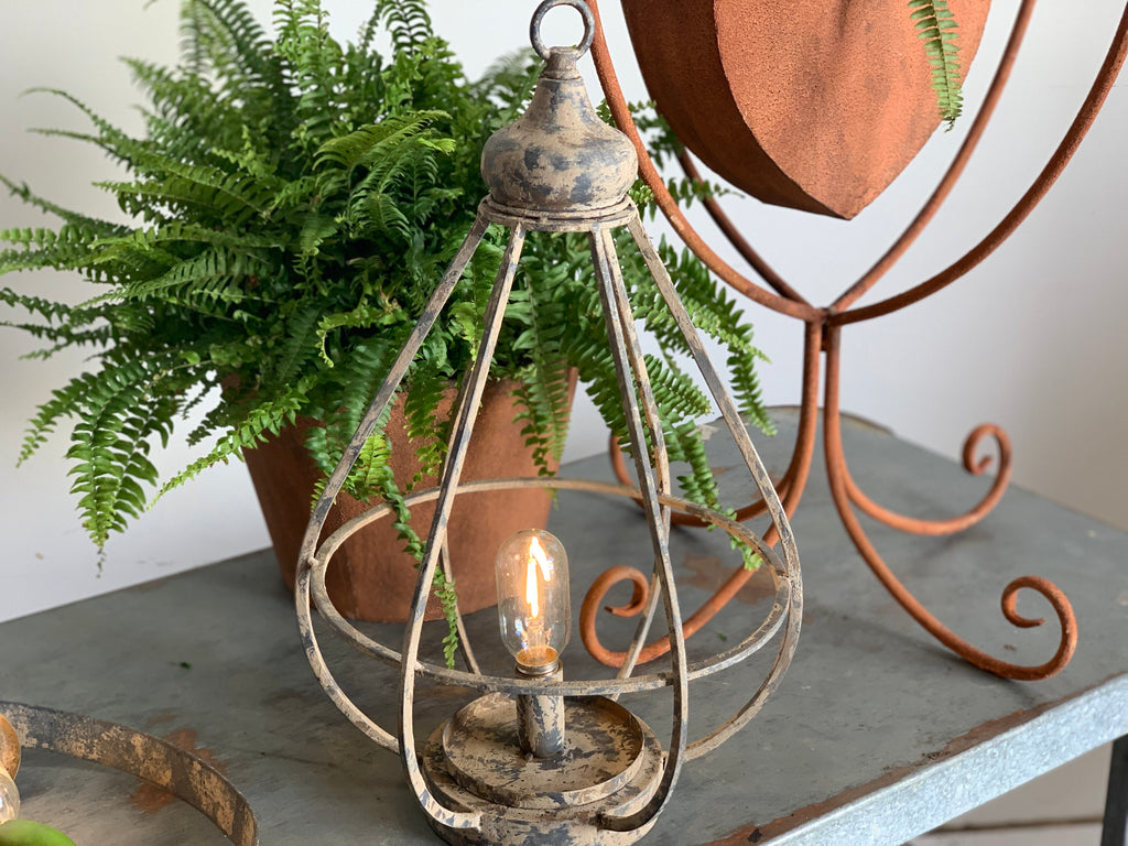 Outdoor Lantern with LIGHT