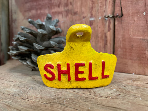 Cast Iron Bottle Opener Shell