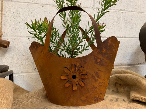 Rust HANDBAG Planter