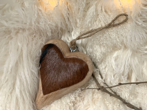 Wooden HIDE Hearts