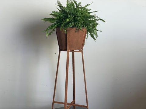 Rusty Standing PLANTER (TALL)