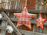 Christmas STAR Snowflakes Ornament