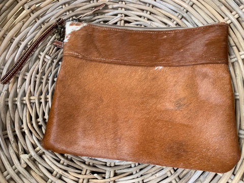 NEW LILY Cowhide Clutch