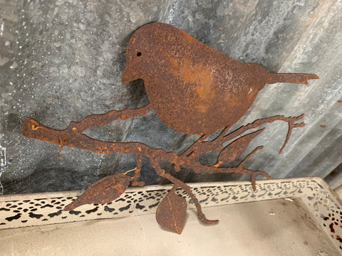 Wrought Iron Sparrow