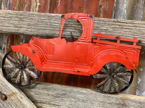 Red Truck Wall Decor