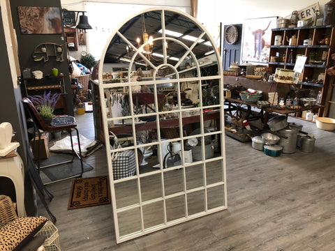 XL Metal Arch Mirror