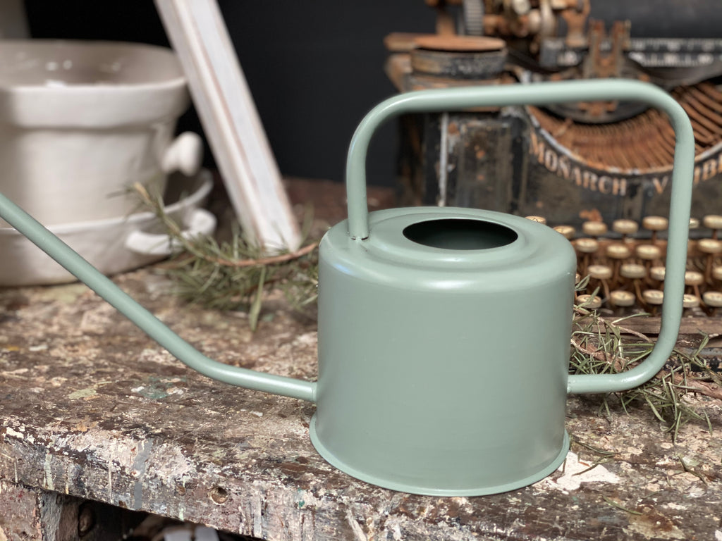 RETRO Watering Can SAGE