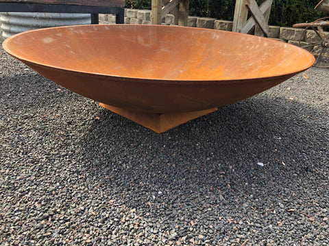 HEAVY Cast Iron Massive Fire Pit or BIRD BATH POND