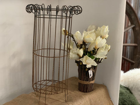 Large Wire Pot Planter