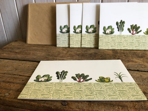 The Vegetable Patch Card Boxed Writting Set